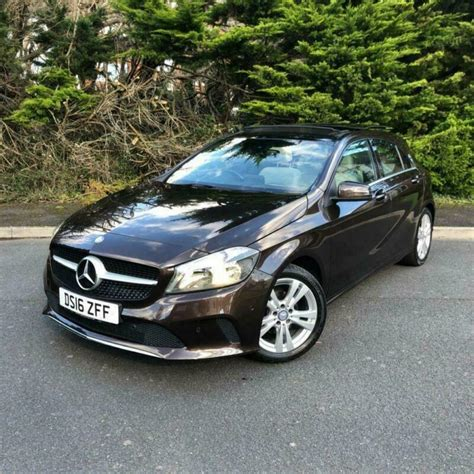 A rare find with just 1357 miles in outstanding. 2016 16 MERCEDES-BENZ A CLASS 1.5 A 180 D SPORT EXECUTIVE 5D 107 BHP DIESEL | in Christchurch ...