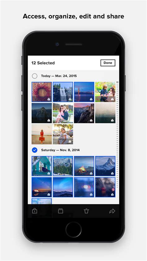 flickr app  facelift auto uploadr improved timeline