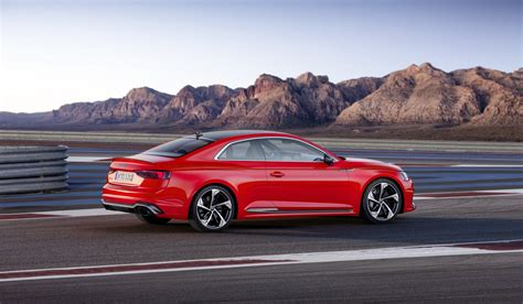 Audi Rs5 by Audi Launches New Rs5 Coupe With 450 Ps Bi Turbo V6 Tfsi