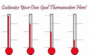 DESIGN CUSTOM GOAL FUNDRAISING THERMOMETERS ONLINE