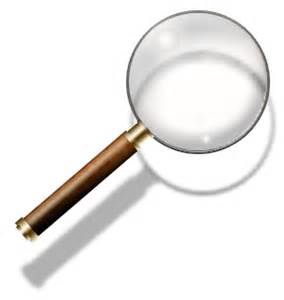 steunk magnifying glass search icon by