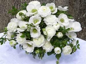 Wedding Flowers from Springwell: Elegant White Ranunculus ...