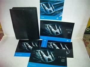 2010 Honda Insight Owners Manual Kit