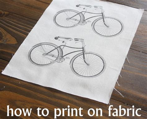 printing pictures on fabric how to print on fabric the graphics fairy