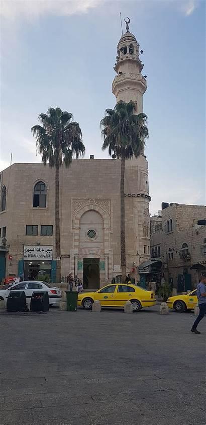 Bethlehem Manger Square Nativity Church Omar Mosque