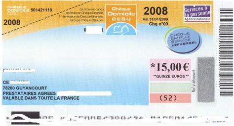 si鑒e social la banque postale le chèque emploi service universel en images services à domicile letarif com