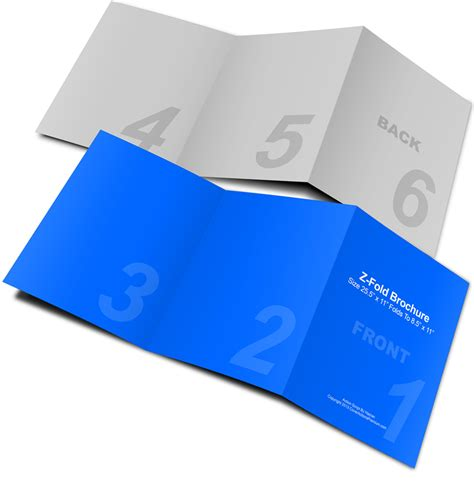 3 Fold Phlet Template by Brochure Folds 28 Images Creative Folding Brochures On