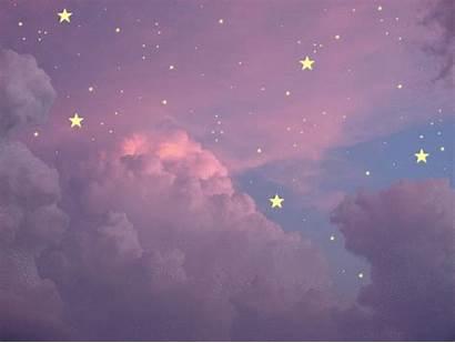 Aesthetic Purple Sky Anime Galaxy Wallpapers Wattpad