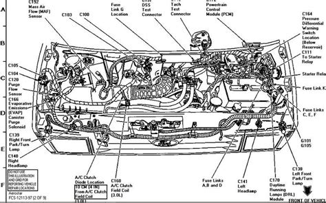 1996 Aerostar Wiring Diagram by 1996 Ford Ranger Engine Diagram Diagram Schematic Ideas
