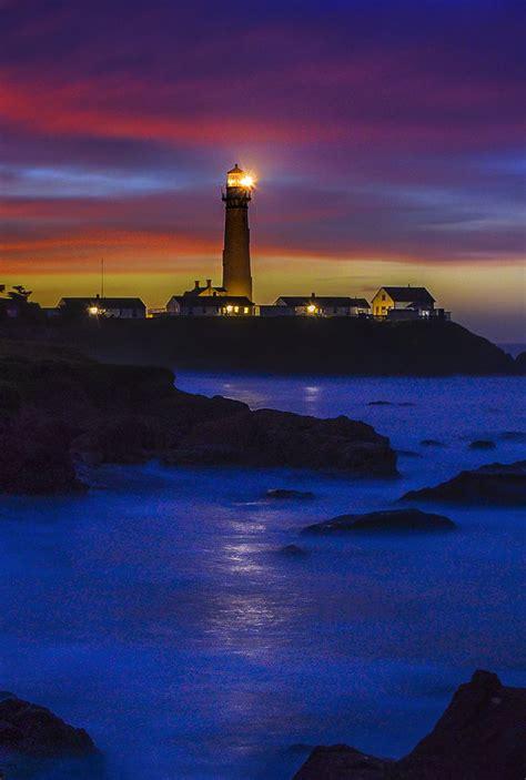 pigeon point lighthouse sunrise william mcintosh