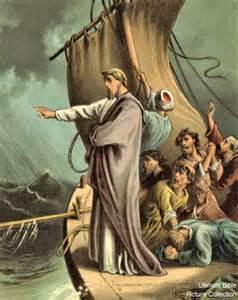 Jesus Calms the Storm Luke