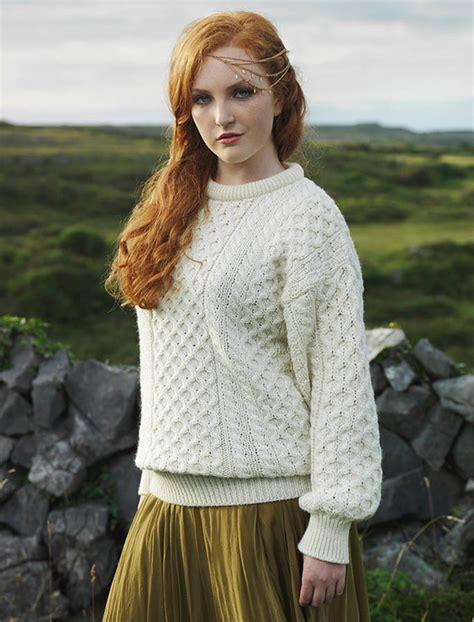 sweater womens aran wool sweater womens sweater wool sweater