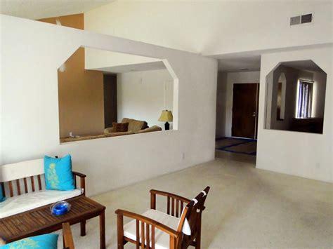 From Divided Living Room To Elegant Open Floor Plan Diy