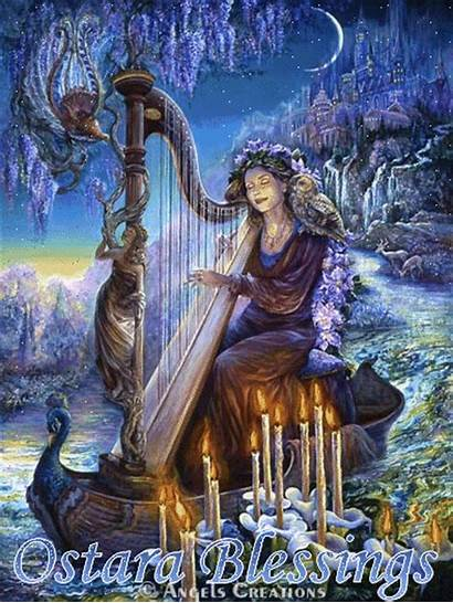 Ostara Josephine Atena Deusa Fantasy Goddess Wiccan