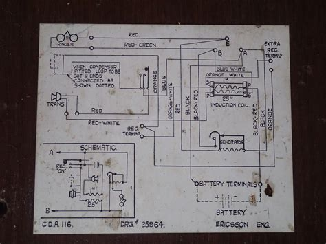 Phone Number Wiring Diagram Magneto Wall Telephones