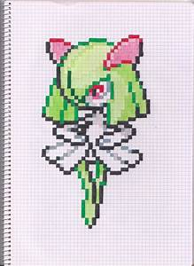 Pokemon Gardevoir Pixel Art Grid Images | Pokemon Images