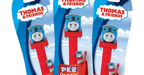 pez palz friends pez thomas train pez brushbuddies
