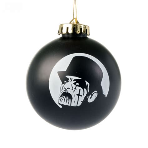 king diamond quot no presents for christmas ornament black