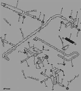 Manual Lift Assist -  U516c U7528 U8f66 U8f86 John Deere 825i - Utility Vehicle