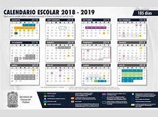 Calendario Escolar 2018 2019 SEP Puebla Wevoluciona