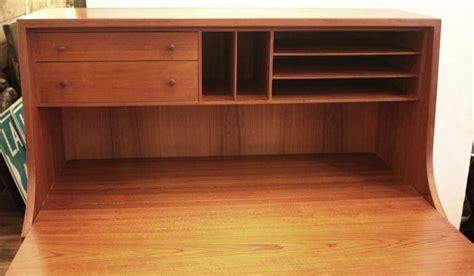 dresser desk combination furniture mid century modern danish drop down desk dresser
