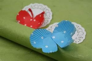 Schmetterlinge Aus Tonpapier Basteln : schmetterlinge basteln ~ Orissabook.com Haus und Dekorationen