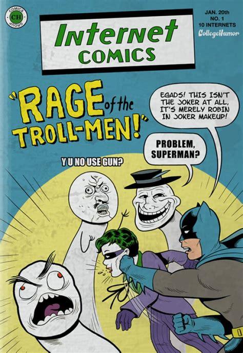 College Humor Meme - batman internet comics collegehumor post