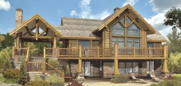 log homes with wrap around porches cheyenne ii log homes cabins and log home floor plans