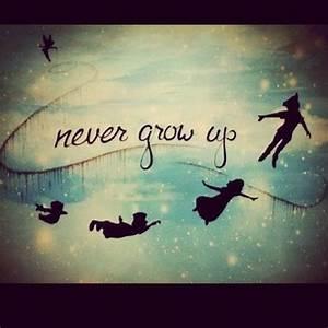 Growing Up Peter Pan Quotes. QuotesGram