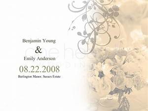 flower wedding powerpoint slide 1 With wedding cards pictures slideshow