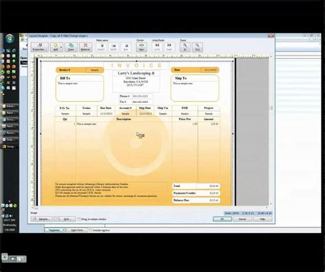 customizing  quickbooks invoice template youtube