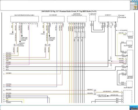 Bmw X5 Headlight Wiring Diagram by Bmw X5 Wiring Diagram Efcaviation And E53