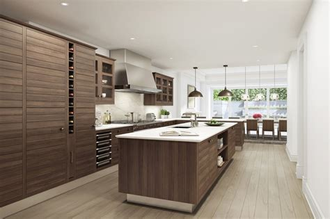 oak kitchen island with granite top 53 high end contemporary kitchen designs with