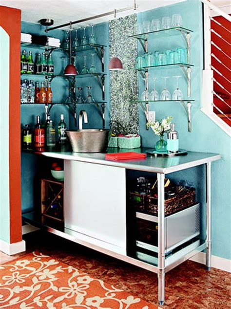 creative basement bar ideas