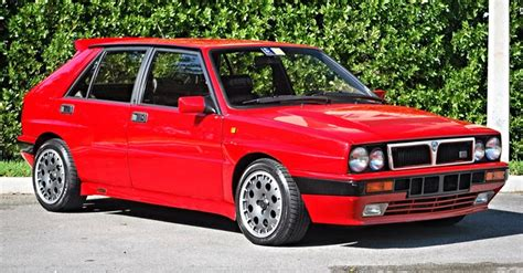 There's A 1989 Lancia Delta Hf Integrale For Sale In The