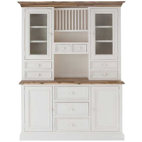 Hutch And Buffet by Mansfield Medium Buffet Hutch White