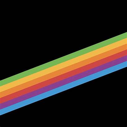 Iphone Wallpapers Stripe Ios Rainbow Background Heritage