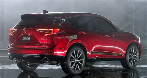 Acura Future Cars 2019 : 2019 Acura Rdx Release Date Changes News Price