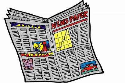Newspaper Clipart Newspapaer Clip Open Transparent Outlier
