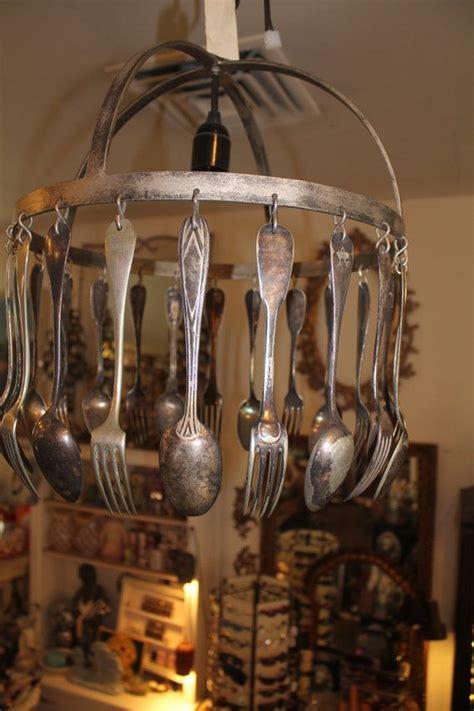 Unique Kitchen Chandeliers by Made In Jose Esteves Silverware Repurposed Hotel