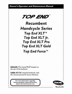 Top End Xlttm Manuals
