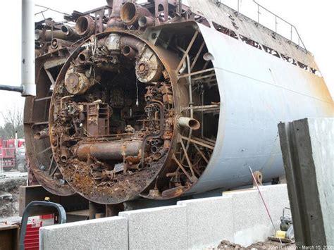 German U Boat Memorabilia by L1240943 U Boat Raised Off Norway Now At Birkenhead