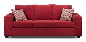 Fava sofa red leon39s for Red sectional sofa canada