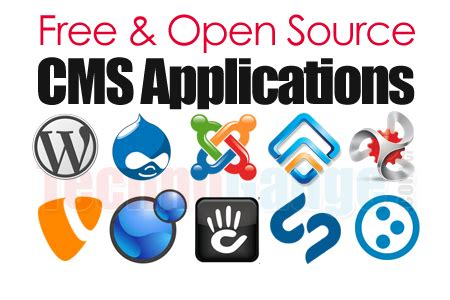 Free Content Management System List Of Free Open Source Content Management Systems Cms