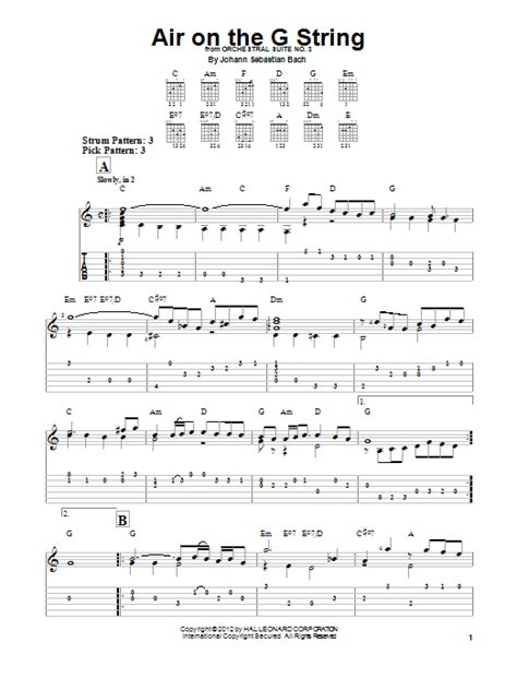 the a string book for violin air on the g string sheet direct