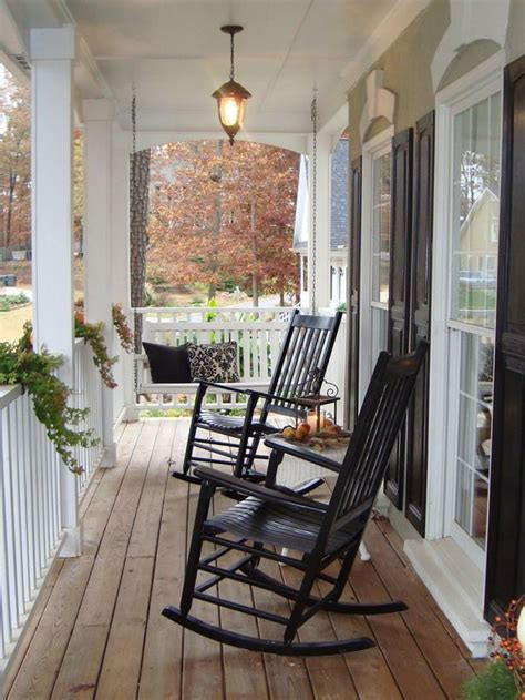 Small Porch Chairs by Black White Front Porch C O U N T R Y I It