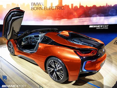 bmw i8 electric range bmw i8 roadster to electric range of current i8