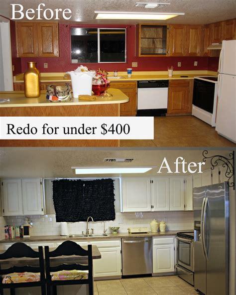 My Kitchen Redo Under $400!  Classy Clutter