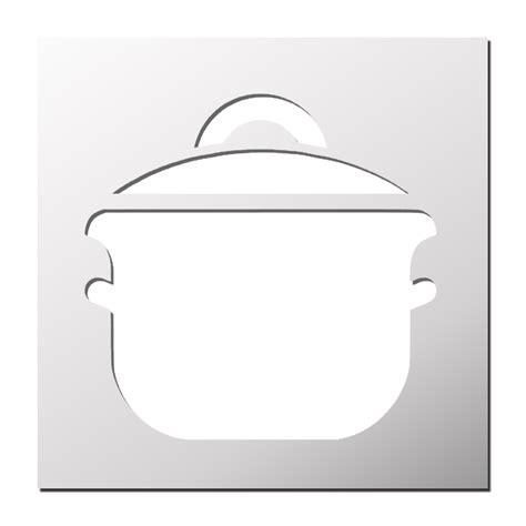 pochoirs cuisine pochoir casserole cuisine frenchimmo