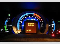 Honda Warning Lights Maintenance Minders Henley Honda